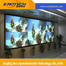 2015 Adhesive 3D rear projection film/foil screen for shop window, display, museum, advertising, store, exhibition