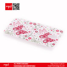 imprint floral rhinestone cell phone cover for samsung galaxy s4