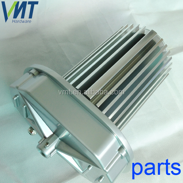 VMT shenzhen supplier round extrusion 100w led heatsink for LED high bay lights