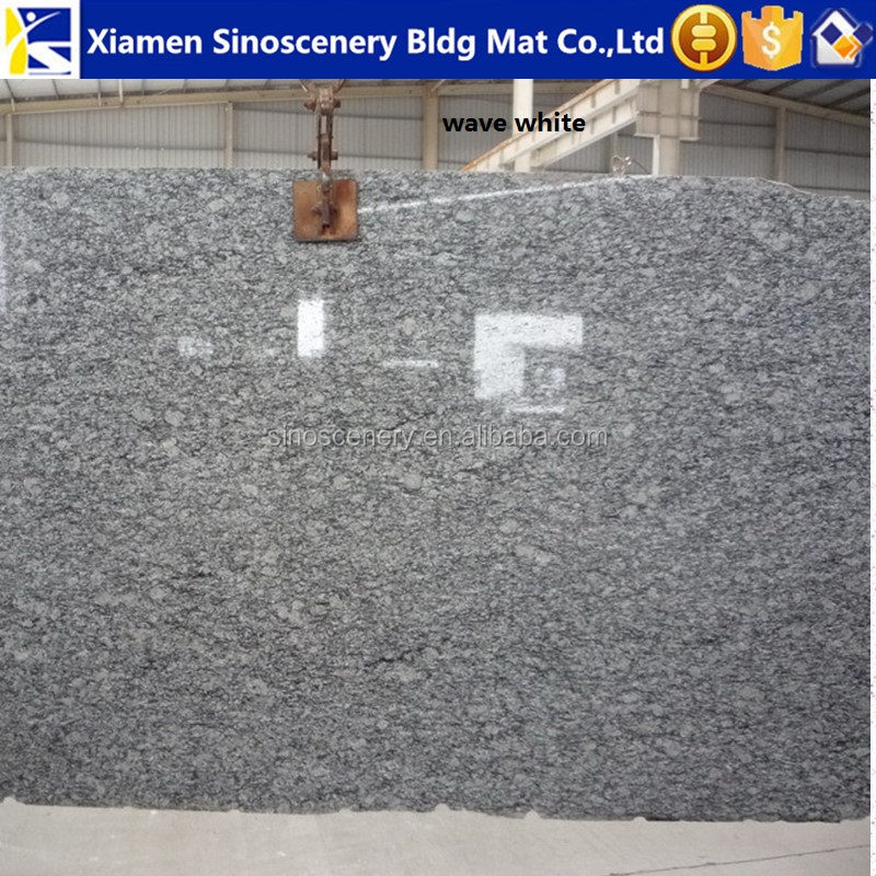 White beauty granite Spray wave stone with factory price