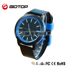 New Popular Silicone Rubber Wristband Watch 3atm Water Resistant