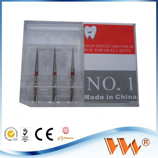 sharp diamond burs for dental handpiece