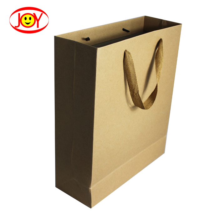 Custom Cheapest Shopping Brown Kraft Recycled Paper Bag
