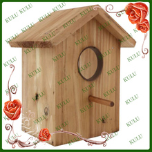 FSC and SEDEX audited outdoor wooden bird house and feeder wooden bird house for sale