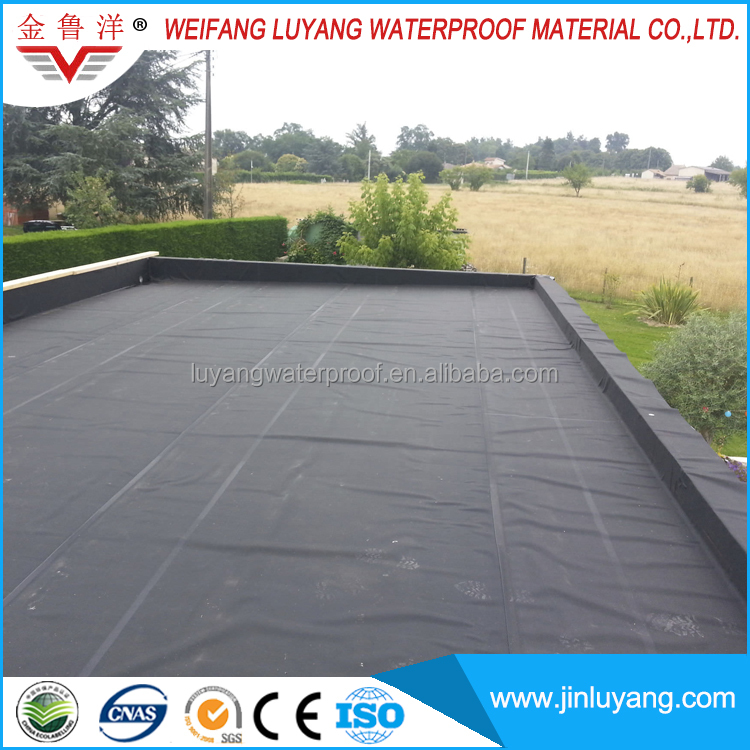 EPDM Rubber Sheet High Quality membrane for Roof Waterproof