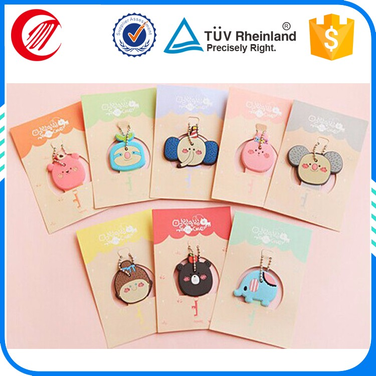 soft pvc promotional gift keyring s letter keychain