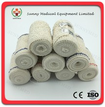 SY-L060 Medical bandage wound dressing surgical bandage cotton crepe elastic bandage