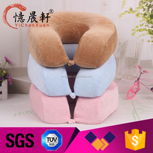 wholesale promotional custom cute baby comfort children animal u shape neck memory foam Travel pillow