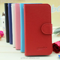 Factory Price Wholesale Flip Leather Wallet Case For Micromax A113 Canvas Ego ( 8 Colors for choose)