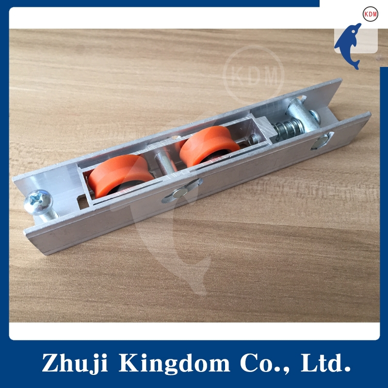 door and window double sliding rollers,high hardness nylon roller