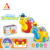 3d light music cartoon toys with battery operated animal b/o toys