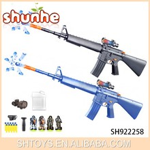 New product electric toy gun water bullet and crystal bomb gun for wholesale