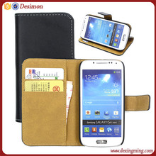 genuine lether shockproof case for samsung galaxy s4 mini