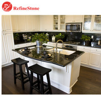 natural stone Chinese black and white marble countertoptable ,factory direct kitchen table top