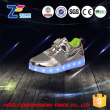 MLS04016 colorful cool kids high heel running led shoes light