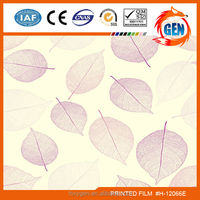 Wall paper breathable decorative pvc laminated gypsum ceiling with 15-year warranty for household