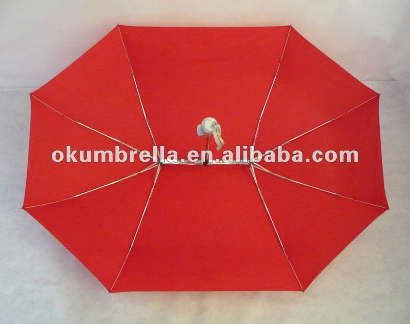 Shenzhen 2012 new fashion folding lovers umbrella