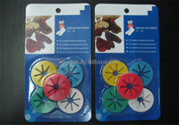 Sock Holder Rings Colorful Sock Organizers Sorters Locks Clips Laundry Sock Clips 10pcs/set