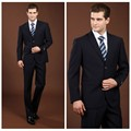 new designs men blue suit pant coat