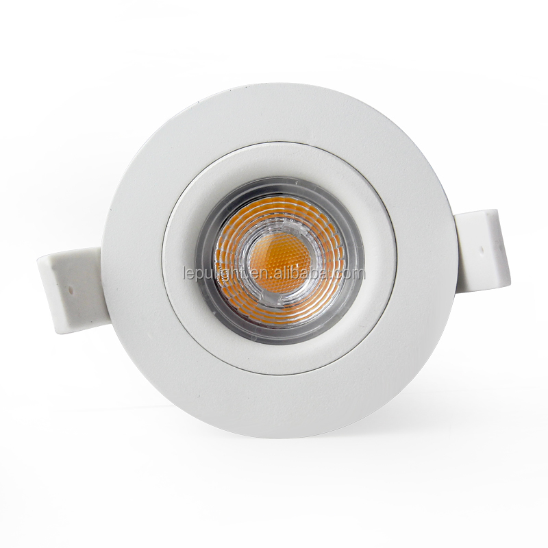 Cutout68mm Ra92 CCT2000k-2800k recessed led downlight 7w ip44 CE Rohs NEMKO
