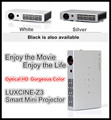 New Arrival! 1080P 3D LED Mini Projector Z3 / WiFI LED Projector / Mini LED Video Projector