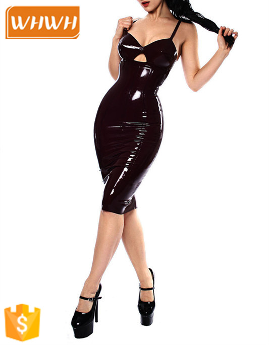 New arrive cheap women ladies tight leather catsuit for women