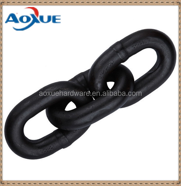 lifting chain Ordinary inch carbon steel galvanized long link chain