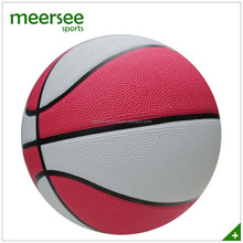 Meersee OEM official size 7 pink rubber basketball bladder