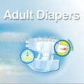 Disposable Diaper Type and Fluff Pulp Material adult diaper