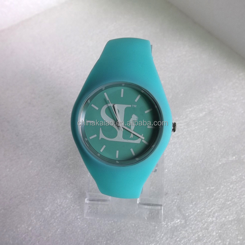 New Fashion GENEVN 12 Colors ICE silicone watch quartz watch With CE