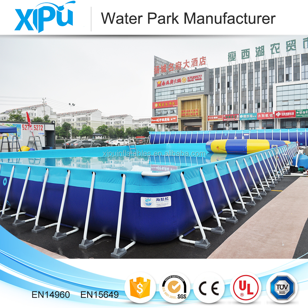Outdoor Large Inflatable Swimming Pool Above Ground Swimming Pool