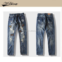 Casual Straight Skinny Jeans Stretch Cotton Boyfriend Denim Jeans Pent for Men suit for winter