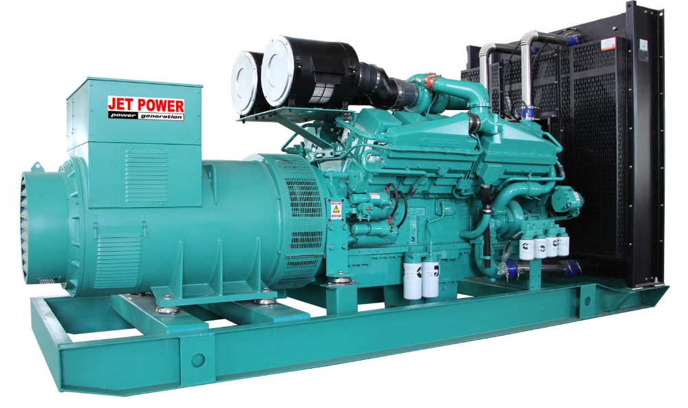 Brand new water-cooled Six cylinder Diesel engine power generators 1375kva diesel generator set