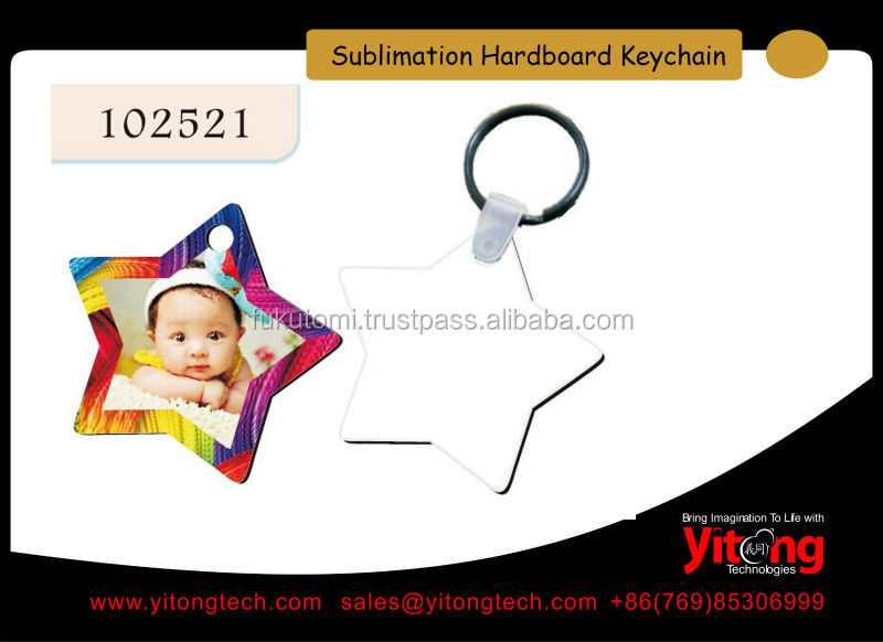 Personalized Sublimation Wood Key Tag