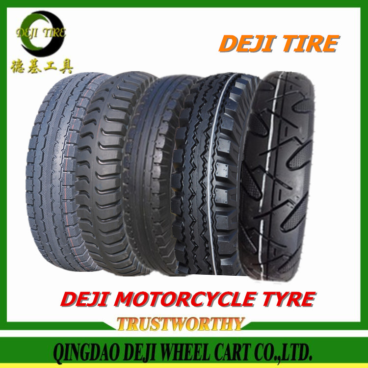 2016 New Qingdao DEJI factory motorcycle tire wholesale,three wheels motorcycle tires
