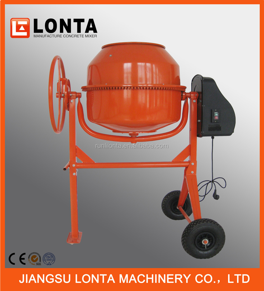 Wholesale latest convenient type concrete mixer / portable mini concrete mixer