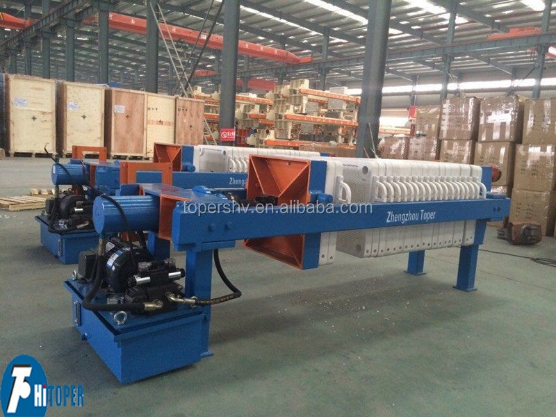 Membrane chamber filter press, second squeeze filter press for sale