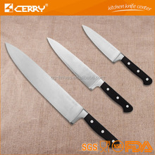 High quality forged stainless steel kitchen chef knife set