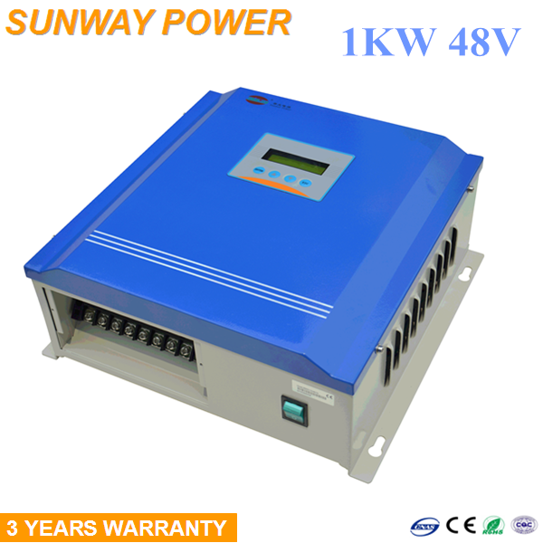 1KW wind turbine and 300W solar panel hybrid power system 48V battery wind solar hybrid charge controller