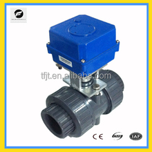 CTF-actuator 40NM electric solenoid ball valve for UPVC for water treatment