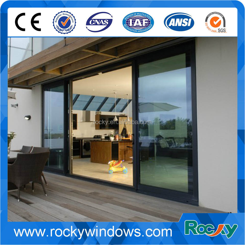 Price Double Glass Sliding Door Low Price Double Glass Sliding Door