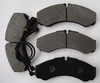 high quality brake lining pads for IVECO auto spare parts