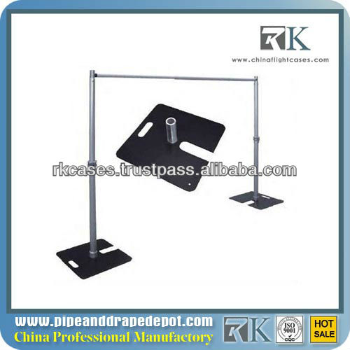 RK adjustable wedding pipe and drape for sale wedding decoration event candle stand