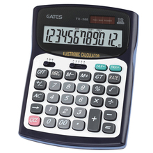 Good Quality 12 Digits Dual Power Accountant Financial Calculator Office Use Desktop TAX Calculator