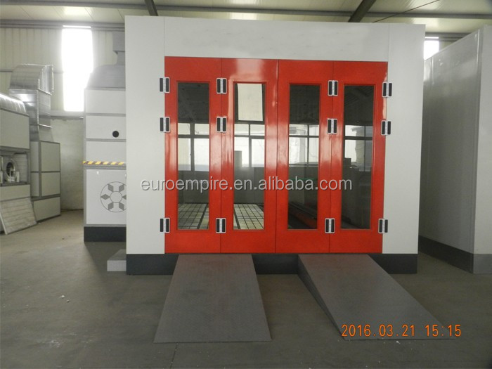 EP-20 CE hot sales paint booth with water curtain/spray paint ventilation system