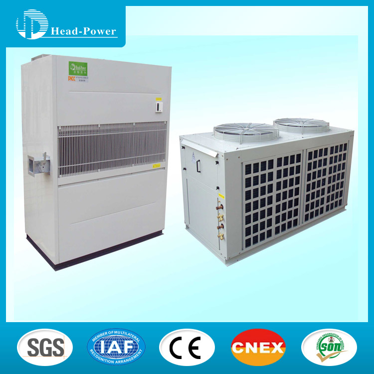 Duct Split Unit : Industrial air conditioners indoor and outdoor unit