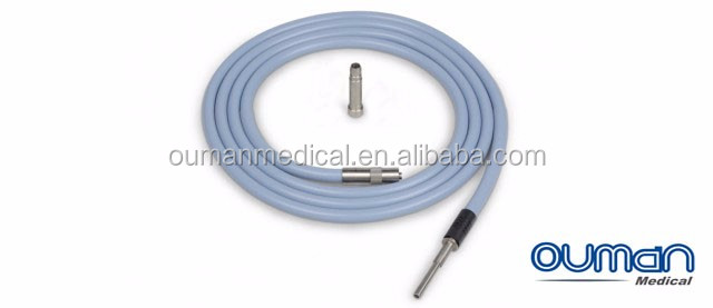 Medical equipment accessory endoscopy light source cable