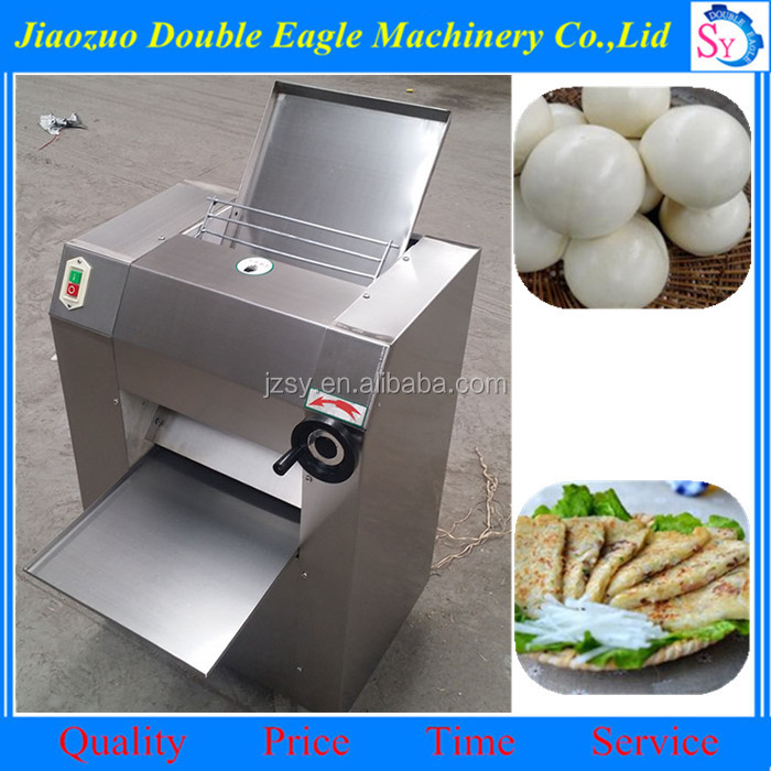 kitchen 350 commercial automatic dough mixer/noodle press making machine