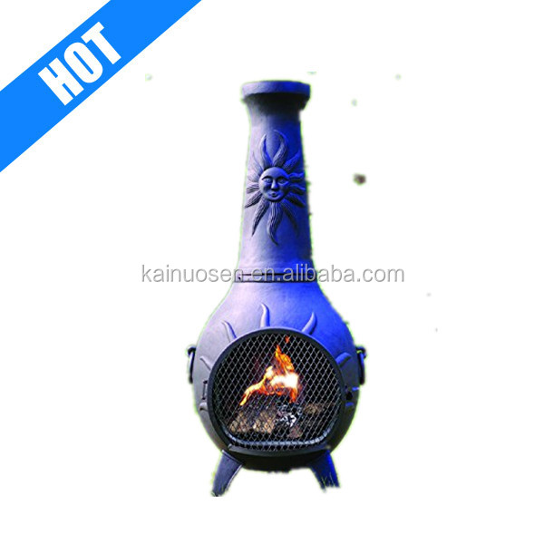 The Blue Rooster Sun Outdoor Chiminea for Sale
