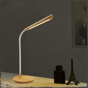 Eye-Protected Adjustable Goose Neck LED Table Lamps with USB Output Charging Port